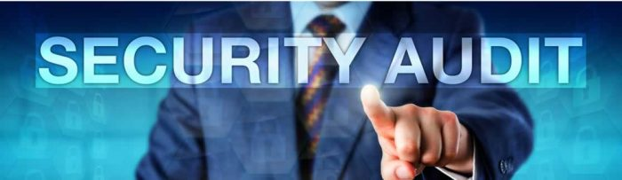 Security audits help weaknesses in security policies